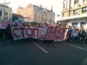 belgrado sciopero studenti