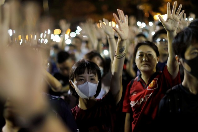 East Asia Protests