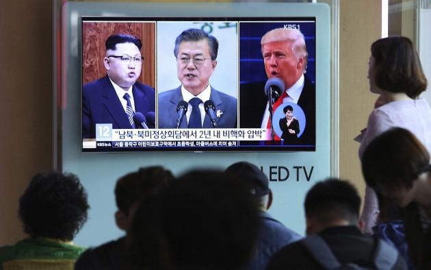 Kim Moon Trump